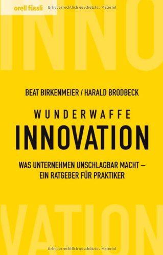 Buchdeckel Wunderwaffe Innovation