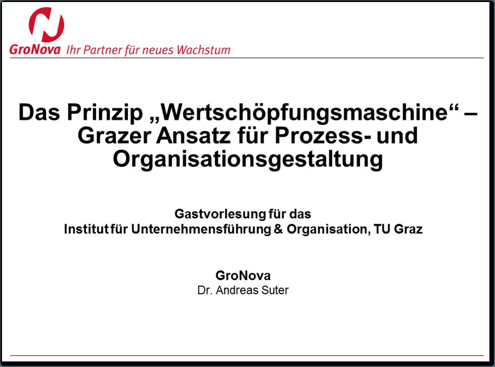 Der Grazer Ansatz für Prozess- und Organisationsgestaltung
